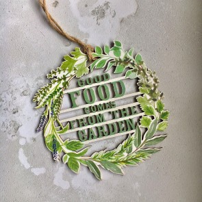 Good Food Comes From The Garden Sign