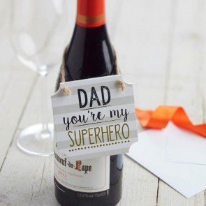 Super Hero Dad Sign