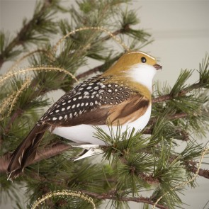 Clip On Partridge Christmas Tree Decoration