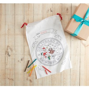 Colour Your Own Christmas Sack