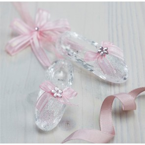 Pink Ballet Shoes Christmas Tree Decoration