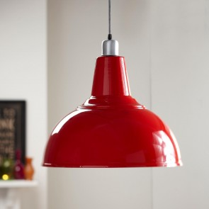 Red Kitchen Pendant Light