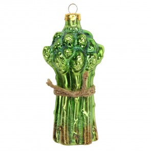 Glass Asparagus Bauble