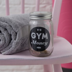 Gym Money Jar