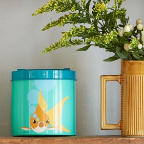 Gold Fish Food Tin