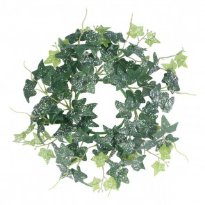 Candle Ring 29cm - Snowy Ivy