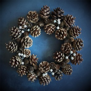Natural Cone & Berry Wreath