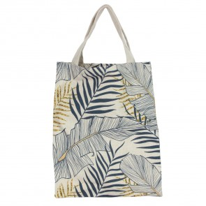 Palm Print Fabric Bag
