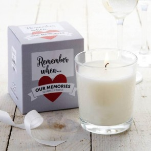 Remember When Scented Candle - Coconut