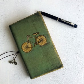 Antique Style Bicycle Notebook