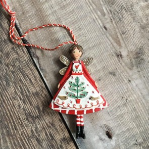 Nordic Yule Fairy Decoration