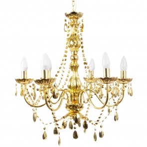 Gold Chandelier - Large