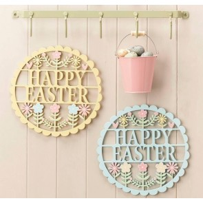 Fretwork Happy Easter Signs