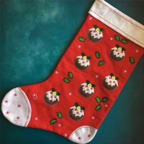 Stocking Eco - Christmas Pudding Stocking