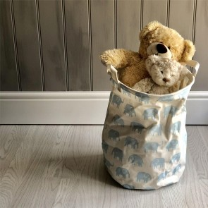 Blue Elephant Storage Tub - Large