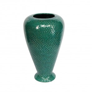 Seagreen Dimple Vase - Large
