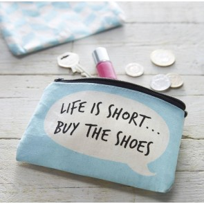 Buy The Shoes Canvas Purse
