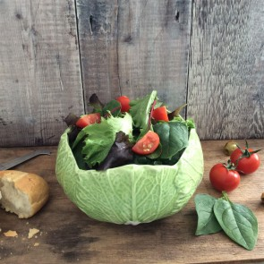 Green Cabbage Salad Bowl