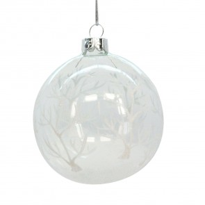 White Forest Bauble