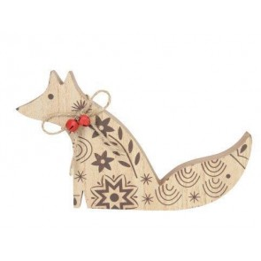 New England Fox Ornament