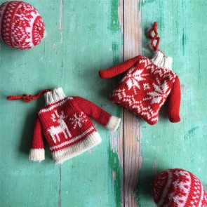 Knitted Jumper Decoration