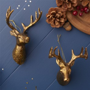 Gold Stag Decoration