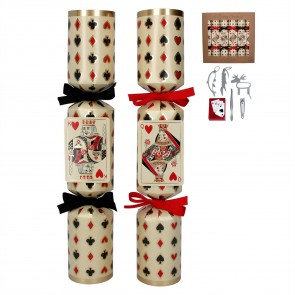 Box/6 Crackers - Playing Cards