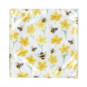 Buttercup Bee Paper Napkin