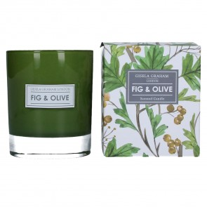 Olive and Fig Scented Candle