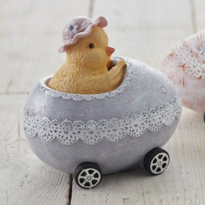 Chick in Egg Car Money Box