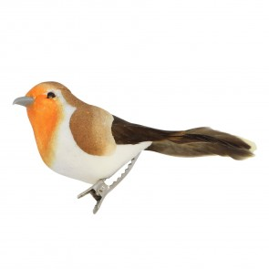 One Clip on Robin Decoration