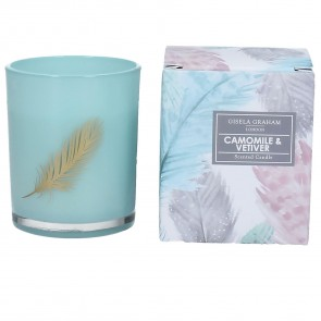 Camomile & Vetiver Mini Scented Candle