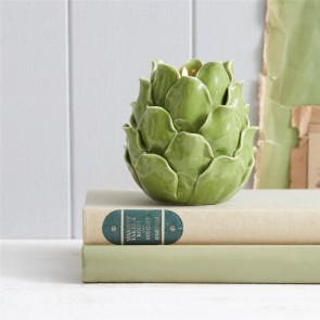 ceramic artichoke tealight holder