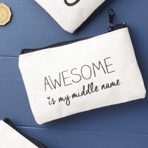 awesome monochrome coin purse
