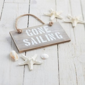 nautical wooden sign