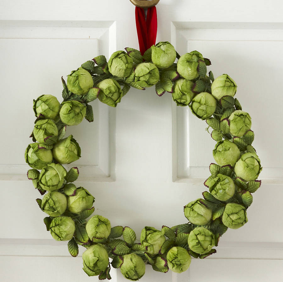 Brussel sprout tree decoration