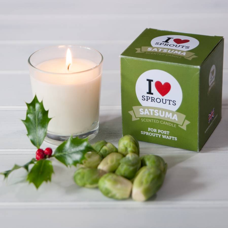 Love Sprouts! Clemantine scented candle