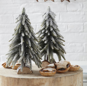 mini christmas tree table top decoration