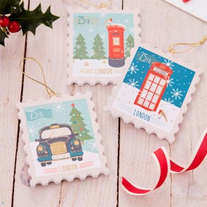 Lond icon stamp decorations